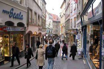 Торговая улица в Граце