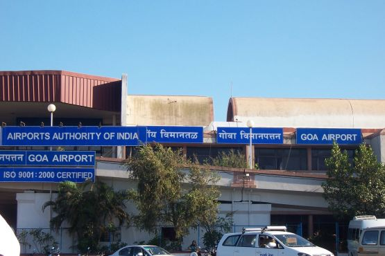 Индия фото– аэропорт Гоа