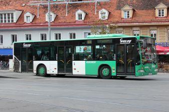 Автобус в Граце