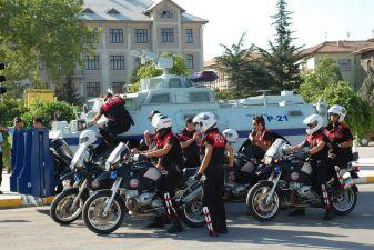 Турция фото– Полицейские на тренировке