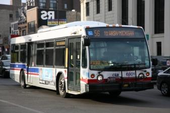 Автобусы в Чикаго