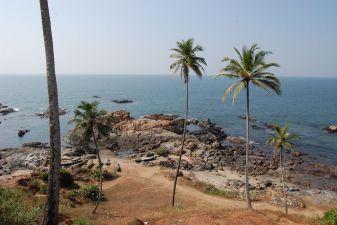 Гоа фото– Солнечный день на пляже Вагатор