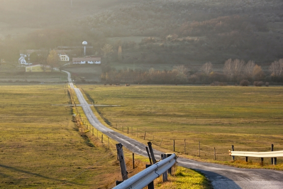 Дорога в Венгрии