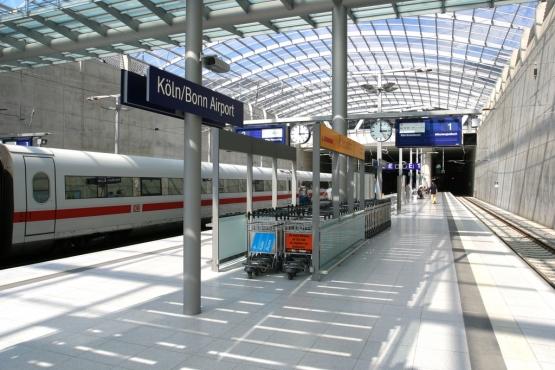 станция в аэропорту Кельна