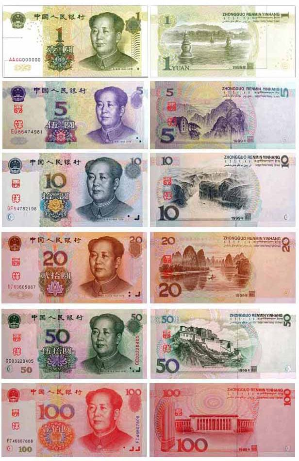 Китай фото – Китайские юани