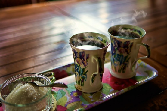 Приветственный чай для гостя