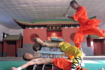 Китай фото – бойцы ушу