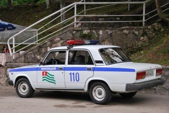 Автомобиль милиции