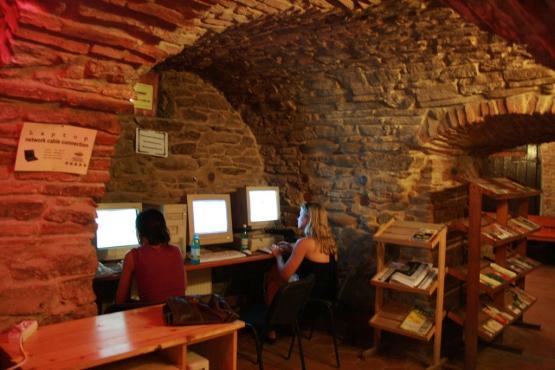 Интернет-кафе в Румынии