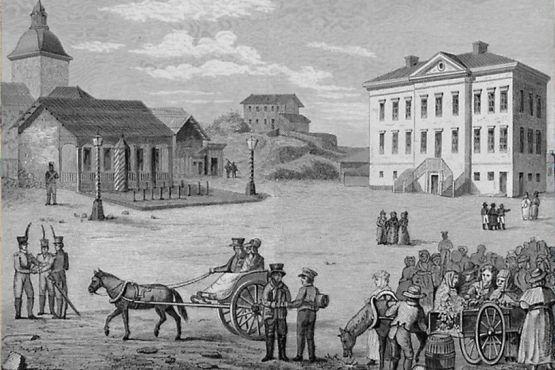 Хельсинки фото– Хельсинки в начале XVIII в в