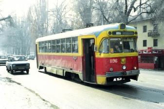 Трамвай в Казахстане