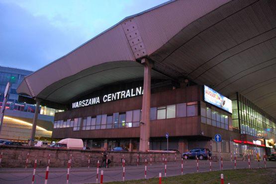 Польша фото– Вокзал в Варшаве