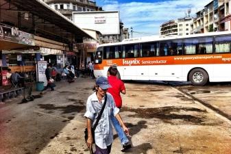Автостанция в Пномпене