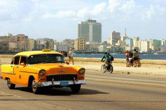 Гавана фото– Такси