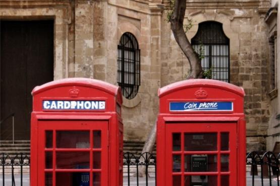 Карточный и монетный таксофоны