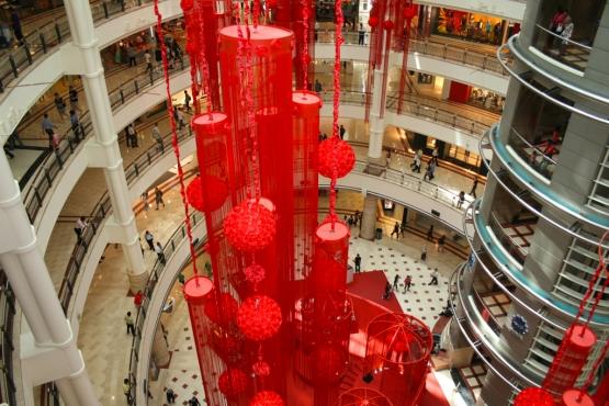 Крупный торговый центр в Куала-Лумпуре