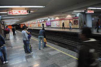 Мехико фото– платформа в метро