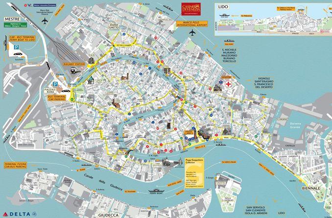 Karta Venecii