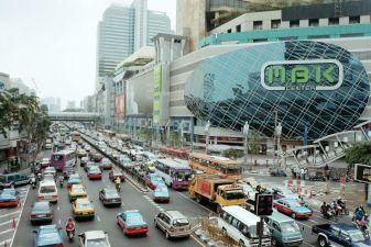 Тайланд фото – Пробки в центре Бангкока