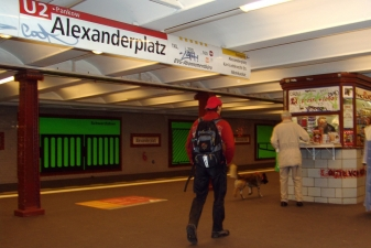 Билетная касса берлинского метро