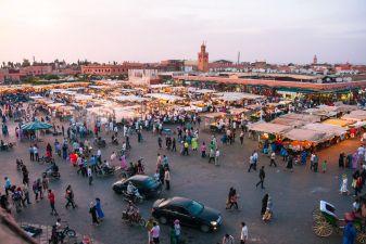 Площадь Джема-эль-фна, Марракеш