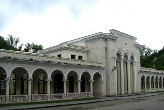 Вокзал в Боржоми