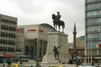 Анкара фото– Памятник Мустафе Кемалю