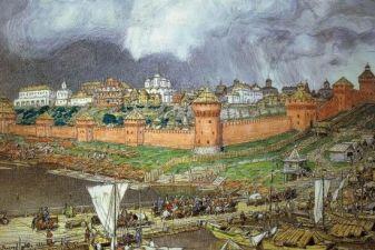 Москва фото– Кремль при Иване III
