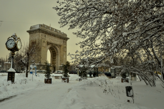 Зима в Бухаресте
