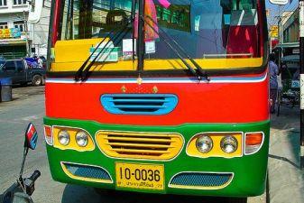 Хуа Хин фото – Автобус в Хуа Хине