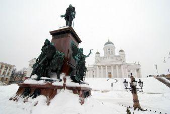 Хельсинки фото– Зима в Хельсинки