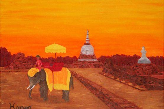Тайланд фото – Аюттайя глазами современных художников