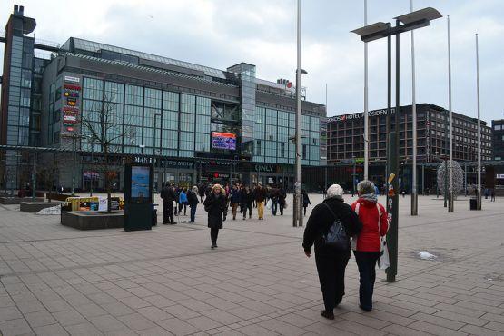 Хельсинки фото– Торговый центр Kamppi