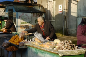 На абхазском рынке