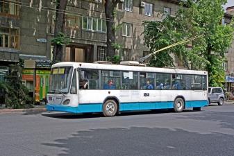 Троллейбус в Алма-Ате