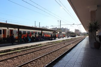 Платформа в Касабланке