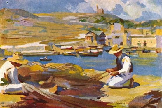 Картина самого известного мальтийского художника– Эдвард Каруана Дингли