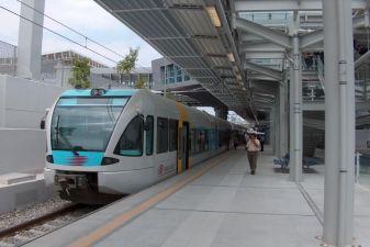 Станция метро в аэропорте Элефтериос Венизелос