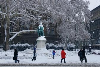 Зима в Будапеште