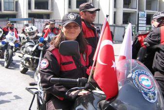 Турция фото– Девушка-полицейский