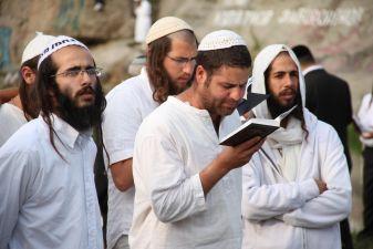 Евреи во время молитвы