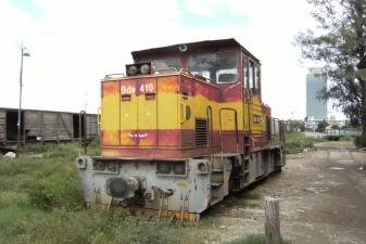 Брошенный поезд