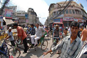 Индия фото– индийские вело-рикши