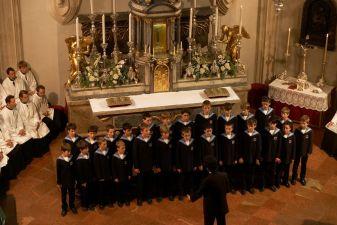 Выступление Венского хора мальчиков