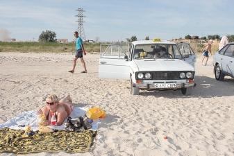 Такси в зоне отдыха