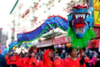 Китай фото – азиатский дракон