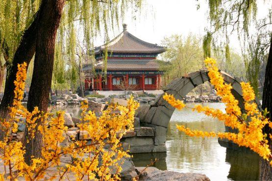Лето в Китае