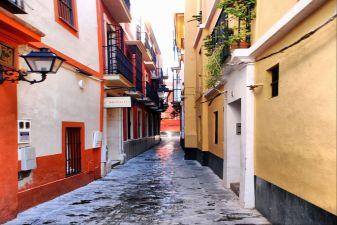 Севилья фото– Красочные улицы
