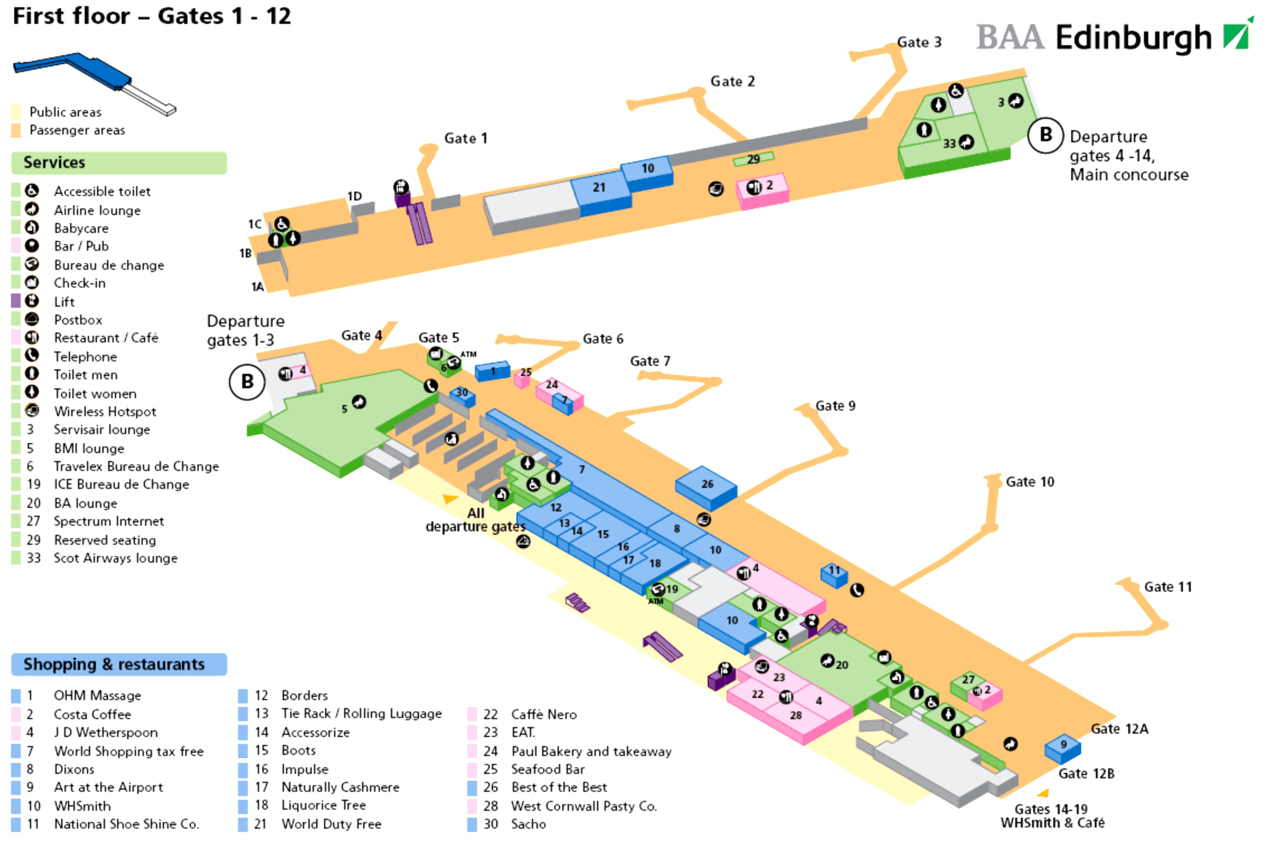 схема франкфурт аэропорт