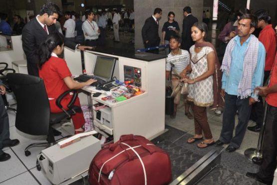 Прохождение таможни в аэропорту Дели
